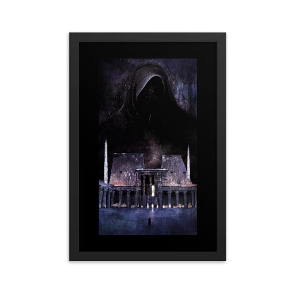 dark cosmic architect print dark art