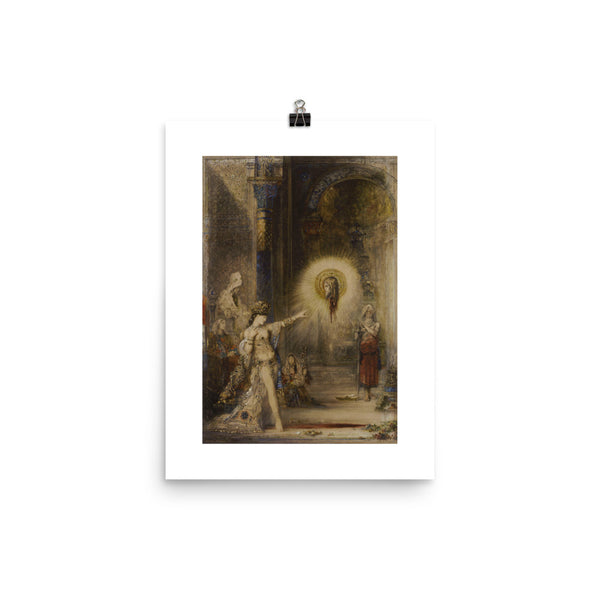 The Apparition Gustave Moreau Poster Print