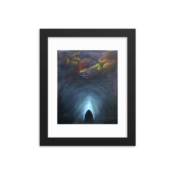 Tomb of Unrepented Souls Bob Stokes Framed Art Poster