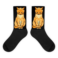 Sitting Cat Julie de Graag Socks