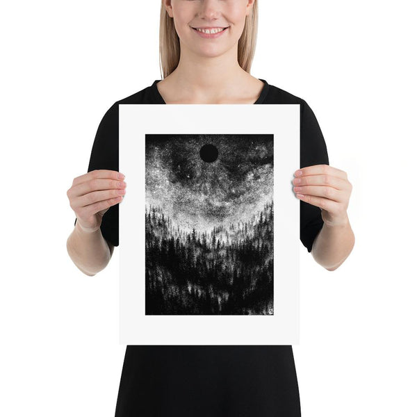 As Darkness Falls Altar of Sorrow Art Poster Print