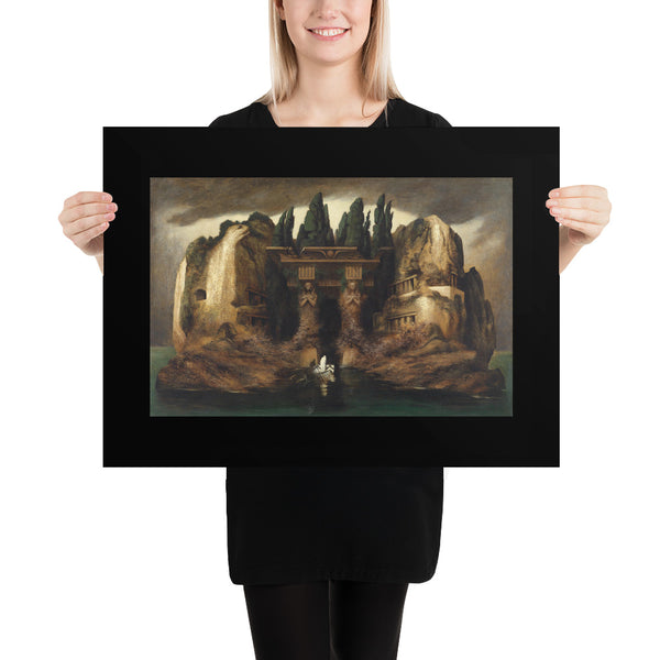 Toteninsel Isle of the Dead Art Poster Print