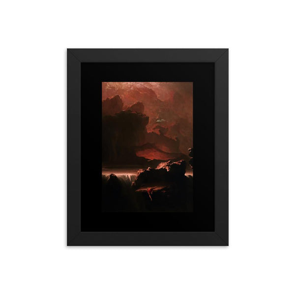 Sadak in Search of the Waters of Oblivion John Martin Framed Poster