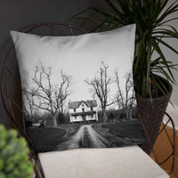 Abandoned Home Pillow