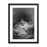 The Raven: Presents a Vision of Death Gustave Doré Framed poster