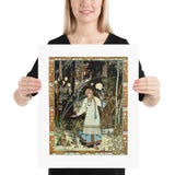 Vasilisa the Beautiful Ivan Bilibin Poster Print