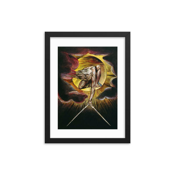The Ancient of Days William Blake Framed Poster