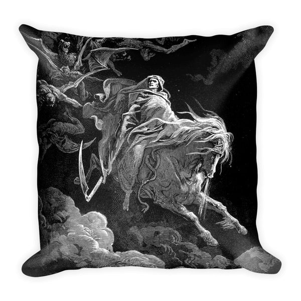 dark art pillow