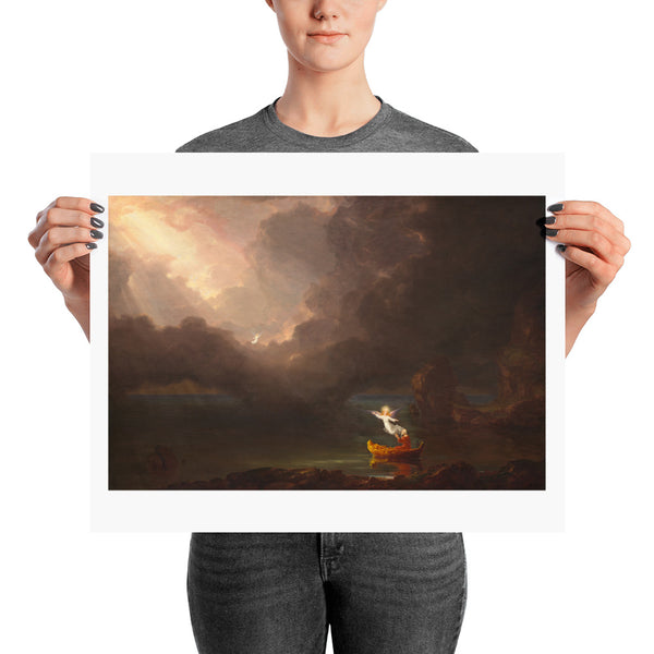 The Voyage of Life: Old Age Thomas Cole Poster Print