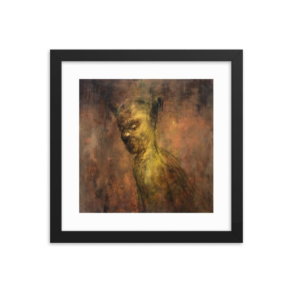 brad gray dark art print Irish artist