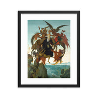 The Torment of Saint Anthony Framed poster