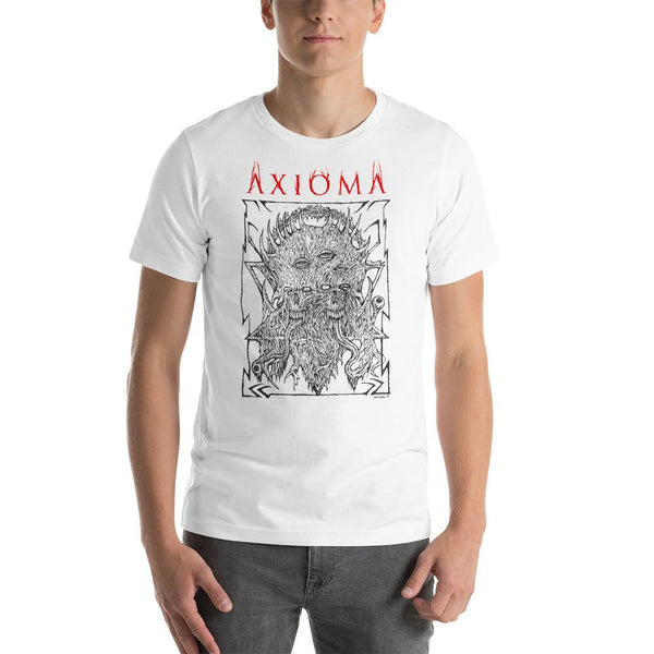 Axioma Eyes of God Scott Stearns White T-Shirt