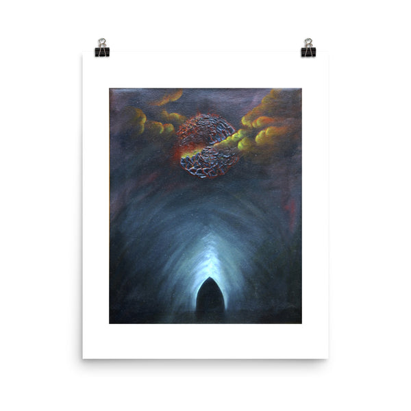 Tomb of Unrepented Souls Bob Stokes Art Poster Print
