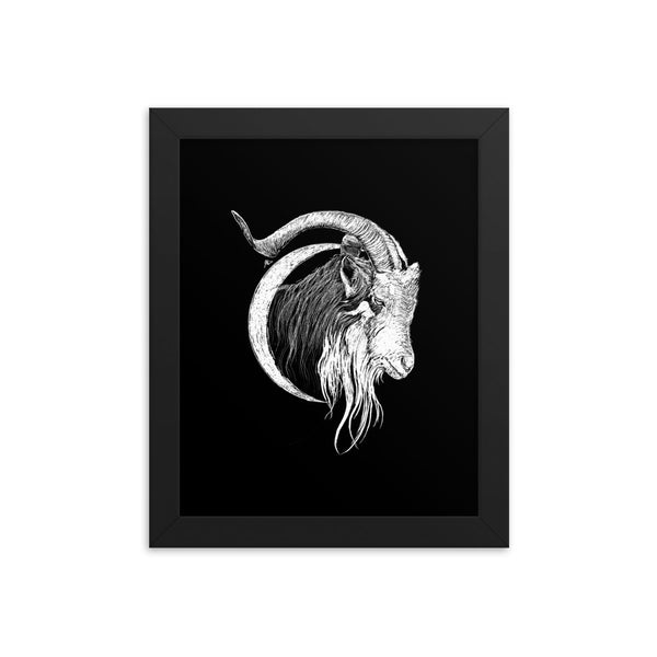 Goatmoon Fred Grabosky Graphic Framed Poster Print