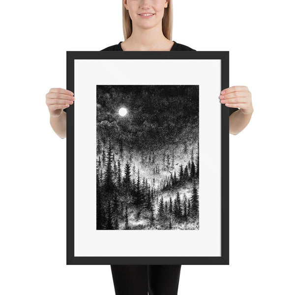 altar of sorrow framed poster print dark art