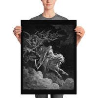 The Fourth Horseman, Death on the Pale Horse Gustave Doré Poster Print