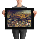The Triumph of Death Pieter Bruegel the Elder Poster Print