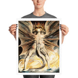 The Great Red Dragon and the Woman Clothed with the Sun William Blake Poster Print