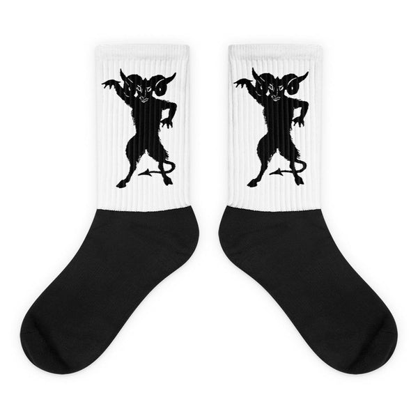 Demon Silhouette Socks