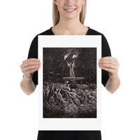 Witches Dancing at a Sabbath Émile Bayard Art Print