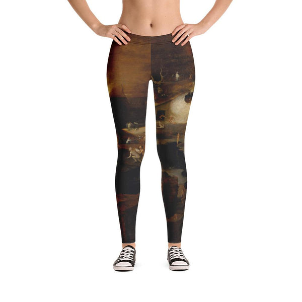 Christ's Descent into Hell Hieronymus Bosch Leggings