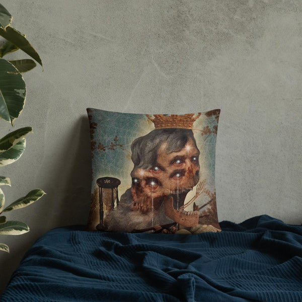 The Cursed Emperor Felipe Froeder Pillow