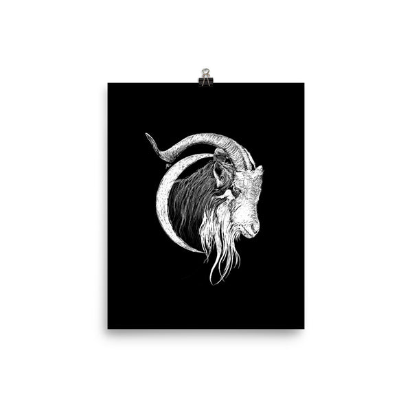 Goatmoon Fred Grabosky Graphic Poster Print
