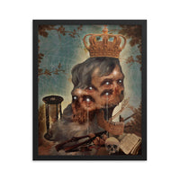 The Cursed Emperor Felipe Froeder Framed poster