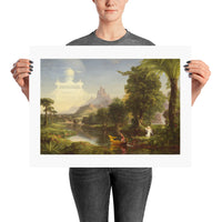 The Voyage of Life: Youth Thomas Cole Poster Print
