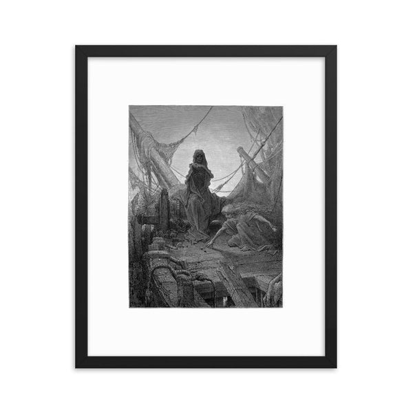 The Rime of the Ancient Mariner dark gustave dore art