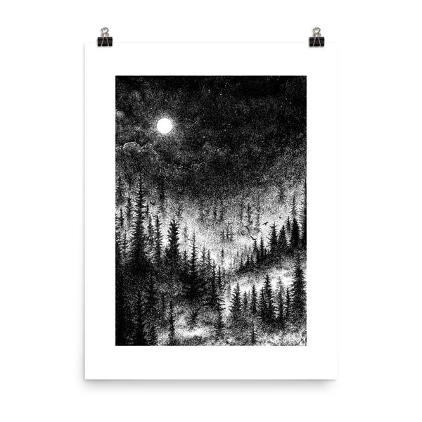 Aura Altar of Sorrow Art Poster Print