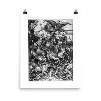 The Four Horsemen of The Apocalypse Albrecht Dürer Art Poster