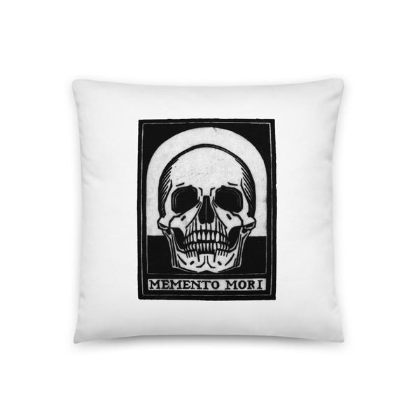 momento mori pillow