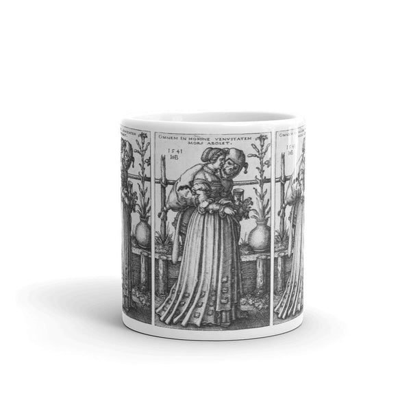 The Lady and Death Coffee Mug