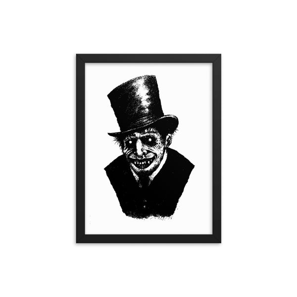 Mr. Hyde Framed Art Poster halloween poster