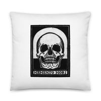 Memento Mori by Julie de Graag Pillow