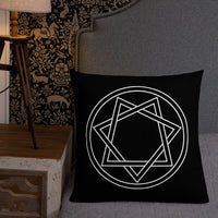 Heptagram Premium Pillow