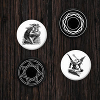 Demon Pin-Back Button 4-Pack