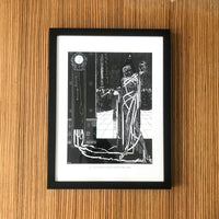 Masque Of The Red Death Harry Clarke Framed poster