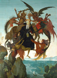 The Torment of Saint Anthony Michelangelo Buonarroti Framed poster
