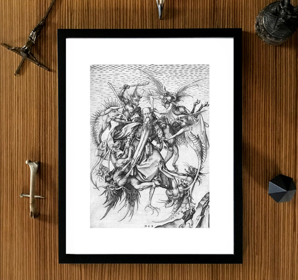 The Temptation of St. Anthony Framed Art Poster