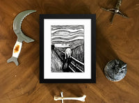 The Scream Edvard Munch Framed Poster