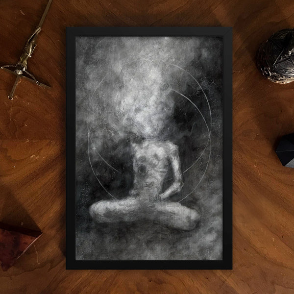 Vessel of the Void Galen Baudhuin Framed Poster