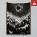 Altar of Sorrow Darkness Returns Woven Blanket