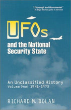 Load image into Gallery viewer, UFOs and the National Security State - New, First run, Vol.1, Autographed