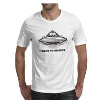 Load image into Gallery viewer, I want to believe T-shirt