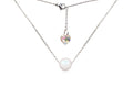 Crystal Pearl Necklace made with Crystals from Swarovski by Pink Box