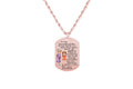 Sentimental Tag Necklace By Pink Box