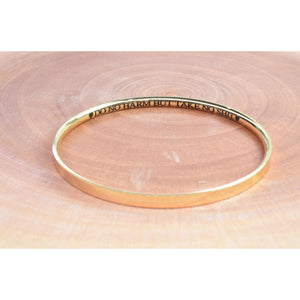Comfort Fit Sassy Sayings Bangle By Pink Box