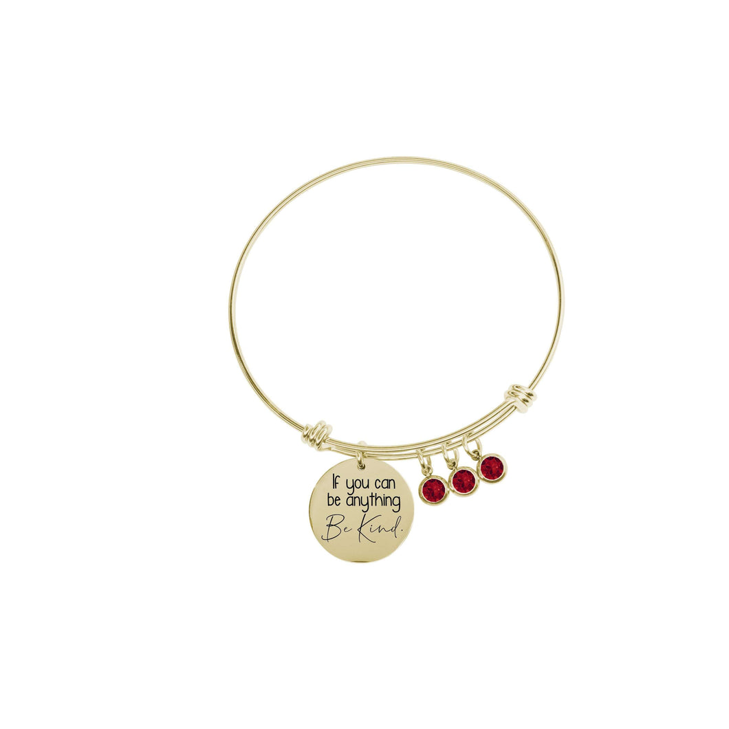 Inspirational Charm Bangles By Pink Box